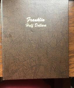 Dansco Coin Album - Franklin Half Dollars, 1948-1963 - Complete Year Collection