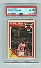 1989-90 Fleer Michael Jordan #21 ~ PSA 6 EX-MT Excellent to Mint!