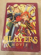 Slayers - Movie Box (DVD, 2005, 5-Disc Set) NEW