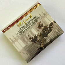 Mozart - Quintets, Quartets, etc - Philips 3 CD Box Set & Booklet with Slip Case