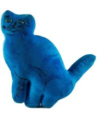 "LIMITED EDITION ANDY WARHOL ""ONE BLUE PUSSY CAT"" PLUSH BY KIDROBOT"