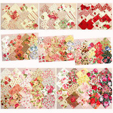 Lecien Handarbeitsstoffe mit Blumenmuster aus 100% Baumwolle