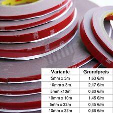 3M VHB 4229P Acrylic Doppelseitiges Klebeband Montageklebeband diverse breiten
