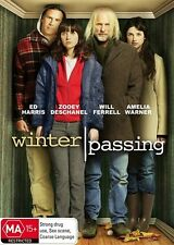 WINTER PASSING Ed Harris, Zooey Deschanel, Will Ferrell DVD NEW