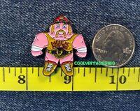 Hulk Hogan Enamel Pin WWF Tonka Wrestling Buddies style WWE Hulkamania WCW