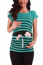 Lustige Umstandsmode T-Shirt Sweatshirt Schwangerschaft Baby Flucht Mama MMC