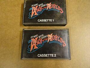 2 X MUSIC CASSETTE / JEFF WAYNE'S THE WAR OF THE WORLDS
