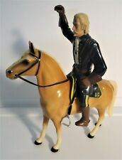 Vintage 1960's Hartland General Custer and Horse - Rare - Very Good - See Pics!