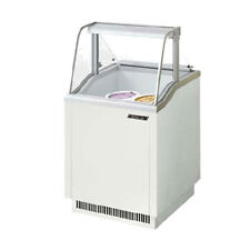 Turbo Air Tidc-26W Ice Cream Dipping Cabinet White