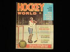November 1972 Hockey World Magazine - Ken Dryden Canadiens Cover