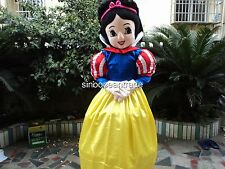 Snow White Mascot Costume Birthday Christmas party dress cosplay game  Adults UK