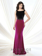 339eeb966c1 Authenic Montage by Mon Cheri 215922-color Blk fuchsia-sz 12-mother