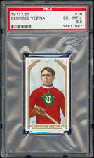 1911-12 C55 Imperial Tobacco #38 Georges Vezina RC PROOF PSA 6.5 One-of-a-kind!