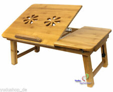 Bambus Laptoptisch Pflegetisch Betttisch Klapptisch