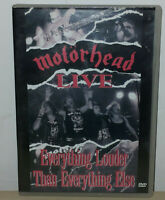 MOTORHEAD - LIVE - EVERYTHING LOUDER THAN EVERYTHING ELSE - EDITORIALE - DVD