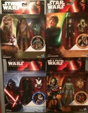 2015 4x Star  Wars Force Awakens Armour Up - Luke - Kylo -Boba Chewbacca⭐️mint⭐️