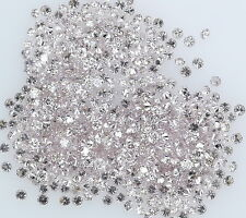 Natural Loose Diamond Pink Color Round SI1 Clarity 1.00 To 1.10MM 25 PcsLot NQ20