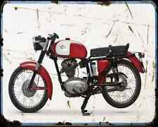 Ducati 175 Ts 65 1 A4 Photo Print Motorbike Vintage Aged