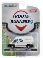 2019 /'19 DODGE RAM PROMASTER USPS ROUTE RUNNERS SERIES 1 GREENLIGHT DIECAST 2020