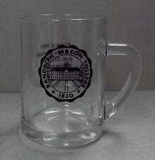Vintage Randolph Macon College Glass Stein Class of 1964 Reunion 1969 EUC