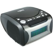 Naxa(R) NRC175 Digital Alarm Clock Radio & CD Player