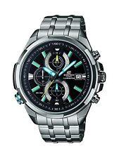 Casio Edifice Men's EFR536D-1A2V Chronograph Neon Illuminator Quartz 44mm Watch