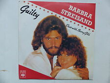 BARBRA STREISAND  BARRY GIBB Guilty  CBS 9550