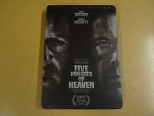 LIMITED EDITION METAL CASE DVD / FIVE MINUTES OF HEAVEN ( LIAM NEESON...)
