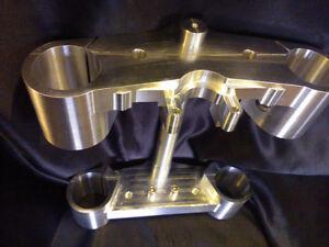 Honda CB1300 Billet Fork Yokes to fit USD forks or originals - Triple Trees