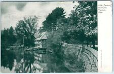 TAUNTON, Massachusetts  MA     TAUNTON BOAT CLUB  1905  UDB  Postcard