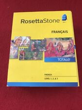 Rosetta Stone French Level 1,2,3 Version 4