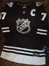 NHL Breakaway jersey women's medium 2017 Authentic ice hockey SEWN PATCHES BLACK
