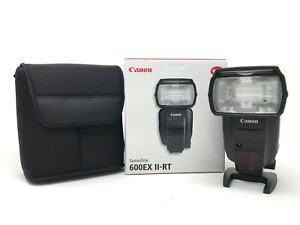 Canon Speedlite 600EX II-RT Shoe Mount Flash - UK NEXT DAY DELIVERY