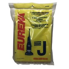Eureka Type J Style Vacuum Cleaner Disposable Dust Bags 3 Pack 61515