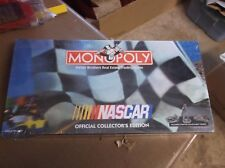 NOS 1997 MONOPOLY NASCAR OFFICIAL COLLECTOR EDITION UNOPENED w/PEWTER TOKENS