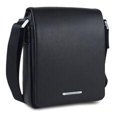 Porsche Design shoulderbag s FV negro hombre bolso bandolera de cuero