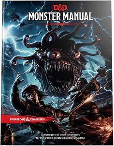 Dungeons & Dragons - Monster Manual   DnD D&D