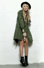 Evil Twin Belsen Oversized Miltary Parka Coat Khaki Green X Small  SOLD OUT