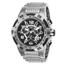 Invicta Men's Watch Speedway Chronograph Black Carbon Fiber Dial Bracelet 25285