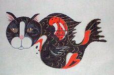 KW 1257 Koi Cat Fish HP Hand Painted Needlepoint Canvas