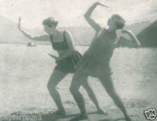 Tanzschule Harnisch Erfurt Reklame 1927 Tanz Gymnastik Steigerstrasse Tanzkurs