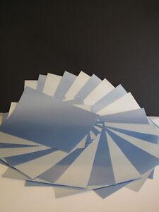 25 X A4 Duo Blau Perlglanz 100gsm Papier AM370