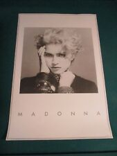 Madonna First Wb Album Poster 36 X 24 Rare 2001 Promotional Numbered 1164/5000