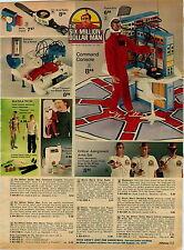 1976 ADVERTISEMENT Toy Figures Six Million Dollar Man SWAT Team Kojak Hondo