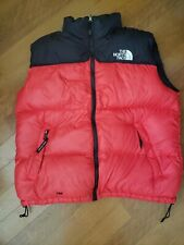 The North Face Nuptse Puffer Vest Red 700 Fill Gore Tex Vintage North Face XL