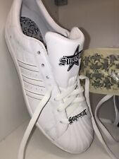 Adidas Superstar CLR Sign White Men's UK 10.5 US 11 Rare/Collectible
