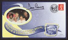 Original Signé FDC Dave Prowse dark vador de star wars postal Cover MULTICON