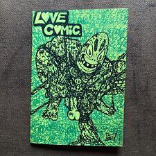 LOVE COMIC #1 Signed Second Print Rare 250 copies Mcfarlane Spider-man 1 Homage