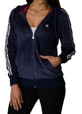 Fila Marybeth Ladies Velour Jacket (Navy Blue)