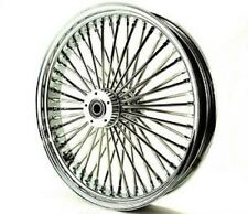 "FAT SPOKE 23"" FRONT WHEEL CHROME 23 X 3.5 HARLEY FLHX STREET GLIDE 2006-2007"